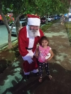 Chegada do Papai Noel da ACE